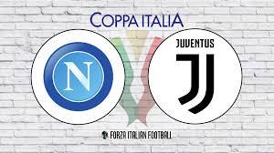 8:00pm, wednesday 17th june 2020. Coppa Italia Final Line Ups Napoli V Juventus Forza Italian Football