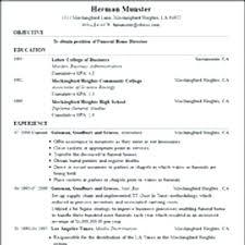 Resume Generator Free Free Resume Generator Free Simple Resume