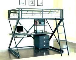 bunk bed with desk underneath loft full beds ikea tromso twin over l full size loft bed desk