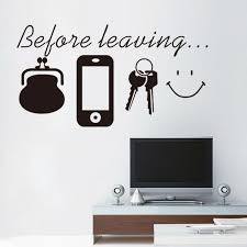 reminder vinyl es don t forget door wall art sticker decal kitchen lounge home decor daily poster spanish english muralhaif wall graphics vinyl wall