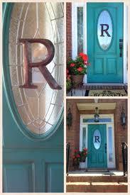 turquoise front doorFront Doors  Pinned B C My Door Has An Oval Window Too Turquoise