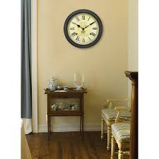 full image for gorgeous chaney wall clock 132 chaney weathered wall clock vintage port wine wall