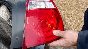 2004 Chevy Malibu Brake Light Bulb How To Replace A Tail Light Bulb On 2004 2007 Malibu