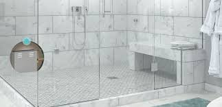 steam shower. A Full Steam Shower Experience