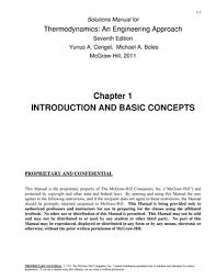 Yunus a cengel michael a boles thermodynamics an engineering ...