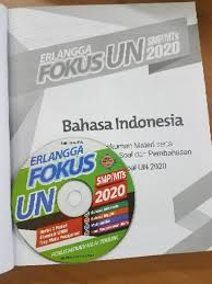 Buku ini dapat digunakan oleh semua sekolah, baik yang menggunakan ktsp maupun yang menggunakan kurikulum 2013. Buku Erlangga Fokus Un Smp Mts 2020 Kunci Jawaban Cd 100 Original Shopee Indonesia
