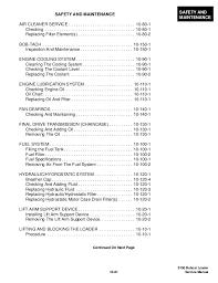 Skid Steer Size Chart Bobcat S130 Skid Steer Loader Service Repair Manual S N