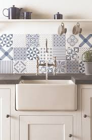 Patterned Tiles For Kitchen Fresh Blue Tapestry Patchwork Tiles From The Odyssey Collection By