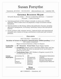 Resumes For College Graduates College Graduate Resume Sample Abcom 22