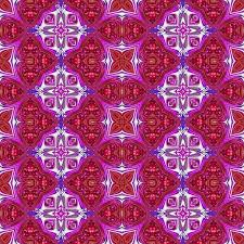 Historical Patterns Inspiration Abstract Seamless Red Pink Floral Creative Victorian Kaleidoscopic
