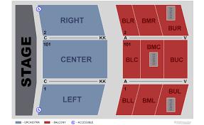 Stockton Performing Arts Center Seating Chart Stockton