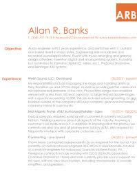 Live Resume Resume AR Banks 23