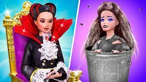 Ma Cà Rồng Giàu Có Vs Ma Cà Rồng Nghèo Rớt / 10 Mẹo Tự Làm Búp Bê Barbie -  YouTube