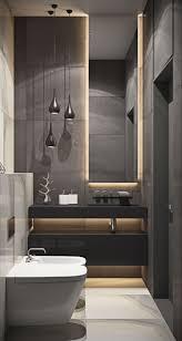 luxury modern hotel bathrooms. Interesting Bathrooms Ensuite Bathroom  Backlit Mirror  Pendant Lighting Unit Design On Luxury Modern Hotel Bathrooms O