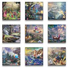 disney princess collection set of 9 wraps 14 x 14 gallery