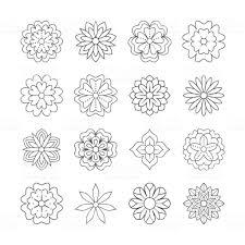 大人の塗り絵の落書き花を概説します美しい花の背景色のアートワーク