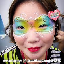 masquerade mask face paint makeup artist 1 jpg