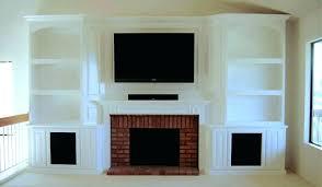 corner oak electric fireplace entertainment center white with drop d