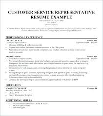 Call Center Representative Resume Beauteous Customer Service Experience Resume Mmdadco