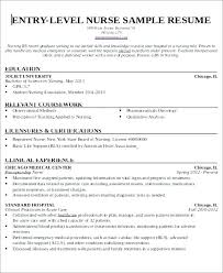 New Grad Nursing Resume Template Gorgeous Resume For Nurse Assistant Certified Nursing Assistant Resume