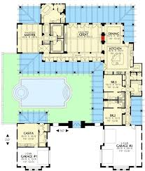 mediterranean house plans with courtyards lovely 93 best house plans images on of mediterranean house
