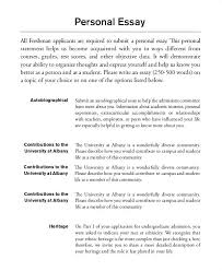 Personal Biography Essay Examples Personal Biography Essay Essays