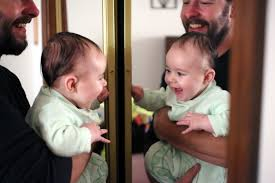 Image result for smiling people in mirror