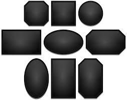black picture frames. Frames Black Photo Frame Picture Glossy E