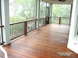 outdoor porch flooring options best for screened in screen