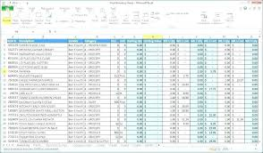 Excel Inventory Spreadsheet Templates Tools Inspirational Inventory