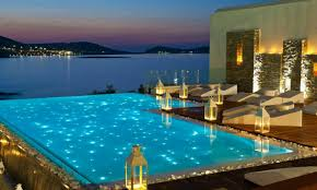 swimming pool lighting options. Today\u0027s Options Include Energy-efficient LED And Fiber-optic Lighting In A Multitude Of Colors Arrangements. Not Only Will The Right Set Your Swimming Pool