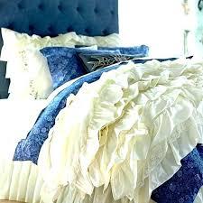 premium cabbage rose duvet cover bedding for and sham sheet set blue comforter shabby chic