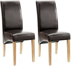 faux leather dining chairs ebay. dining chairs: willis and gambier originals fletton brown faux leather chair with natural leg chairs ebay