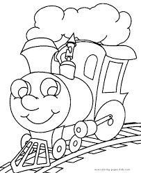 Coloring pages for toddlers, preschool and kindergarten. Coloring Book Pages To Print Train Color Page Transportation Coloring Pages Color Plate Colori Train Coloring Pages Preschool Coloring Pages Coloring Books
