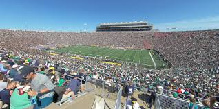 Notre Dame Stadium Section 126 Rateyourseats Com