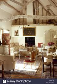 country farmhouse furniture. Plain Farmhouse French Rustic Country Farmhouse Sitting Room Exposed Roof Beams Stone Floor  Tables Chairs Interiors Rooms Antiques Period Furniture Tiled Truss To Country Farmhouse Furniture K