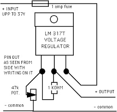 homebrew wind turbine faq the circuit i use is shown below the pin outs are as seen from the side the writing you need to fix it to a small heat sink