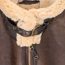 r a f sheepskin er jacket