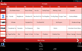 tv guide. freeview tv guide- screenshot tv guide v