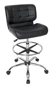 modern drafting chair. Studio Designs Modern Black Crest Drafting Chair T