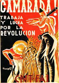 Carteles de la Guerra Civil Española: Camarada!, trabaja y lucha por la  revolución (19/110)