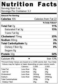 Beef Nutrition Facts Chart Weight 4 Frozen 1lb Packages Cost Per Pound 8 99 Sku