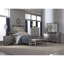 Bedroom Mirrored Value City Bedroom Sets In Silver For Bedroom