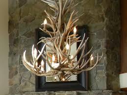antler chandelier for crystal chandelier rustic living room design with wonderful antler chandelier and versetta