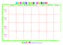 one week menu planner daily menu planner template wanted poster template microsoft word
