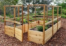 standing garden bed raised cedar garden bed with deer fence free standing raised garden beds plans standing garden bed