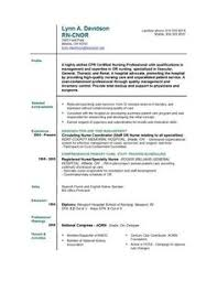 Medical Surgical Nurse Resume Example - Http://resumesdesign.com ...