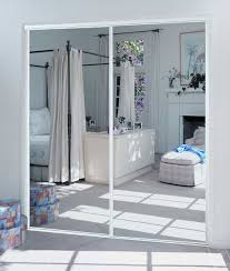 mirror closet doors.  Closet Mirror Sliding Doors U2013 White Frame Keystone And Mirror Closet Doors