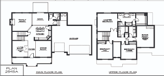 Small Four Bedroom House Plans Small 4 Bedroom 2 Story House Stunning Two Story House Plans