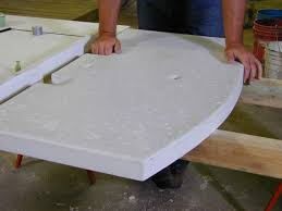Making Cement Forms How To Build A Concrete Countertop Diy